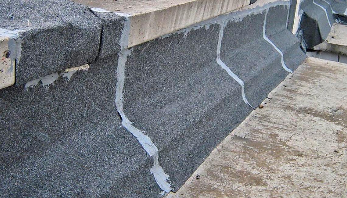 Гидроизоляция примыканий рулонным наплавляемым материалом 2 слой