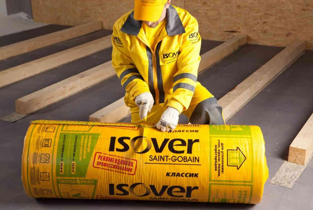 Упаковка ISOVER Твин Классик - рулон